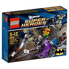 Buy Lego Super Heroes Catwoman Catcycle City Chase Online at johnlewis.com