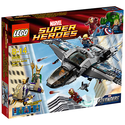Buy LEGO Super Heroes: Quinjet Aerial Battle Online at johnlewis.com