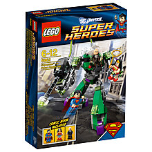 Buy LEGO Super Heroes Superman vs. Power Armour Lex Online at johnlewis.com