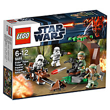 Buy Lego Star Wars Endor Rebel Trooper and Imperial Trooper Battle Pack Online at johnlewis.com