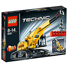 Buy LEGO Technic Tracked Crane Online at johnlewis.com