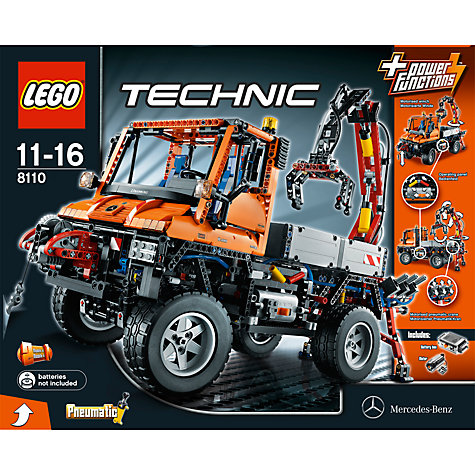 Buy Lego Technic Unimog U400 Kit Online at johnlewis.com