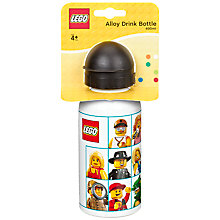 Buy LEGO Alloy Drink Bottle, Assorted Online at johnlewis.com