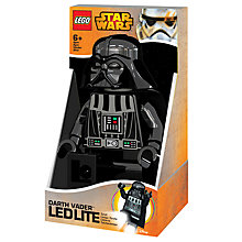 Buy LEGO Star Wars Darth Vader LED Torch Online at johnlewis.com