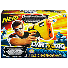 Buy Hasbro Nerf Dart Tag Speedload 6 Online at johnlewis.com