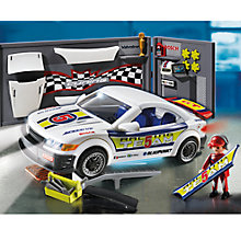 Buy Playmobil Car Repair Shop and Racing Car with Headlights Online at johnlewis.com