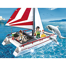Buy Playmobil Catamaran with Dolphin Online at johnlewis.com