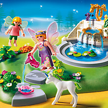Buy Playmobil Super Set Fairy Fountain Online at johnlewis.com