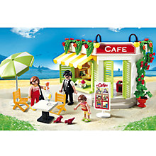 Buy Playmobil Harbour Cafe Online at johnlewis.com