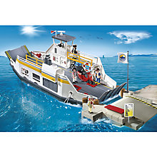 Buy Playmobil Harbour Car Ferry with Pier Online at johnlewis.com