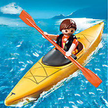 Buy Playmobil Kayaker Online at johnlewis.com
