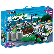 Buy Playmobil Knights Super Set Knight's Fort Online at johnlewis.com
