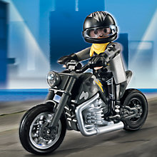 Buy Playmobil Motorbike Collectable, Assorted Online at johnlewis.com