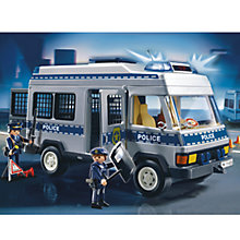 Buy Playmobil Police Van Online at johnlewis.com