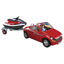 Buy Playmobil Red Convertible with Jet Ski Online at johnlewis.com