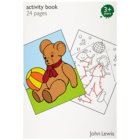 Buy John Lewis Activity Pad Online at johnlewis.com