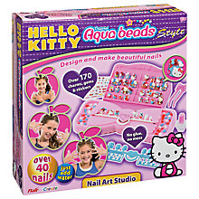 Buy Flair Aqua Beads Hello Kitty Nail Art Studio Online at johnlewis.com