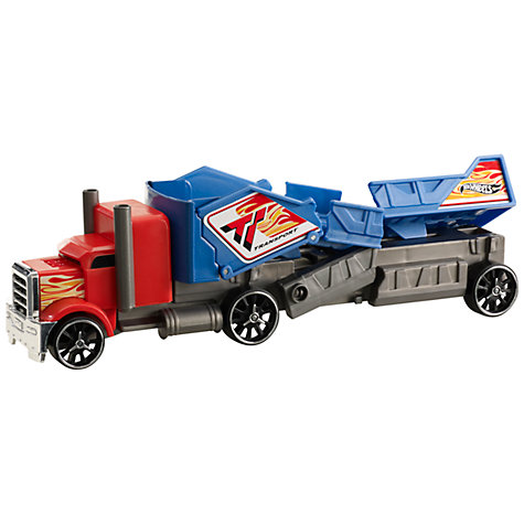 Buy Hot Wheels Crashing Rig, Assorted Online at johnlewis.com