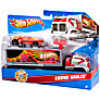 Buy Hot Wheels Trucking Transporter, Assorted Online at johnlewis.com