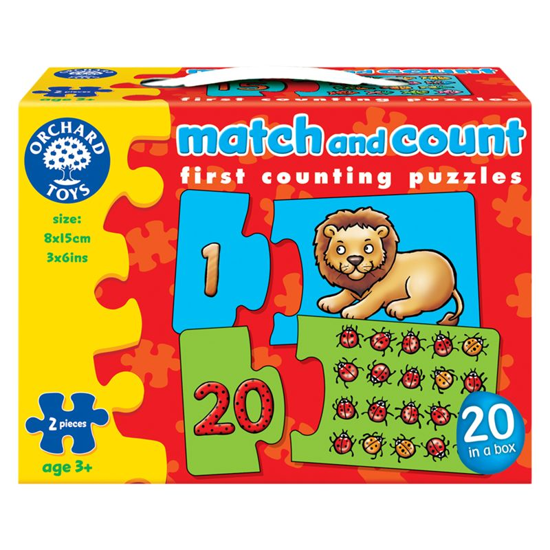 Orchard Games Match And Count Puzzle