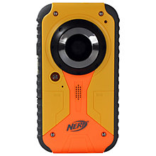 "Buy Nerf 38056 Camcorder, 32GB, 1.8"" LCD Screen, Yellow/Black Online at johnlewis.com"