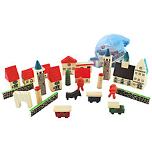 Buy House of Marbles Village in a Bag Online at johnlewis.com