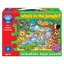 Buy Orchard Toys Who's In The Jungle Puzzle Online at johnlewis.com