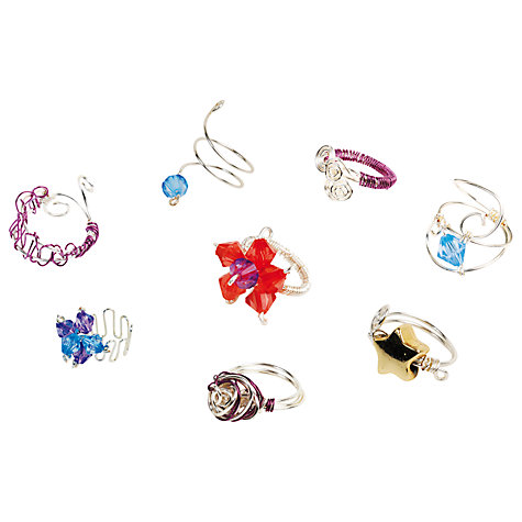 Buy myStyle Wire Craft Rings Craft Kit Online at johnlewis.com