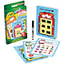 Buy Crayola Washable Dry Erase Marker and 32 Learning Cards Online at johnlewis.com