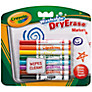 Crayola Washable Dry Erase Markers, Pack of 8