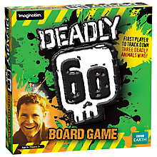 Buy BBC Earth Deadly 60 Tracker Game Online at johnlewis.com