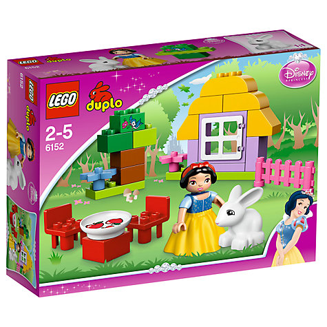 Buy LEGO Duplo Disney Princess Snow White's Cottage Online at johnlewis.com