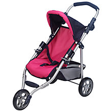 Buy John Lewis Dolls' Jogger, Pink Online at johnlewis.com
