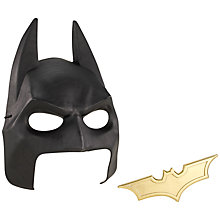 Buy Batman Cowl and Batarang Online at johnlewis.com