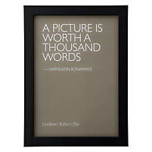 Buy John Lewis Frame, Black Online at johnlewis.com