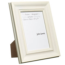 Buy John Lewis Distressed Frame, Cream Online at johnlewis.com
