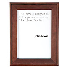 "Buy John Lewis Step Frame, 5 x 7"" (13 x 18cm) Online at johnlewis.com"