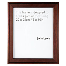 "Buy John Lewis Step Frame, 8 x 10"" (20 x 15cm) Online at johnlewis.com"