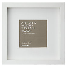 "Buy John Lewis Box Frame & Mount,  4 x 4"" (10 x 10cm) Online at johnlewis.com"