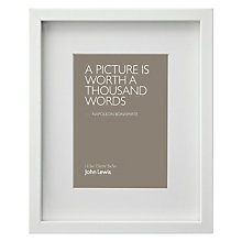 "Buy John Lewis Box Frame & Mount, 5 x 7"" (13 x 18cm) Online at johnlewis.com"