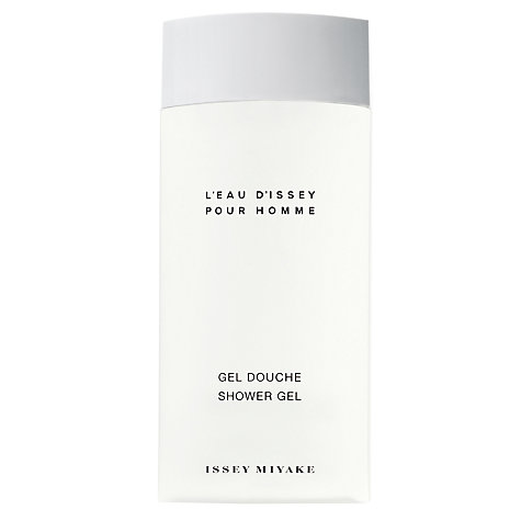 Buy Issey Miyake L'Eau d'Issey Pour Homme Shower Gel, 200ml Online at johnlewis.com