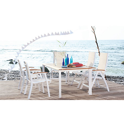 Buy Kettler Avance Outdoor Stacking Armchair Online at johnlewis.com