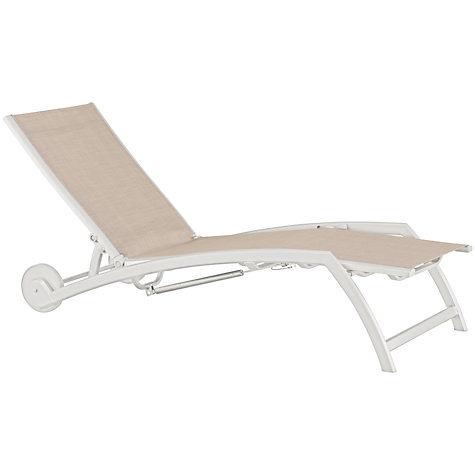 Buy Kettler Avance Outdoor Sunlounger Online at johnlewis.com