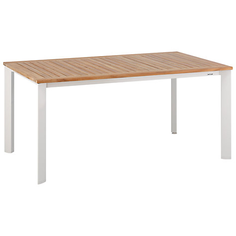 Buy Kettler Avance Rectangular 6 Seater Outdoor Dining Table Online at johnlewis.com