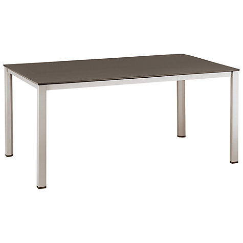 Buy Kettler Basic Plus Rectangular 6 Seater Outdoor Dining Table Online at johnlewis.com