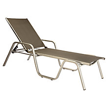 Buy Kettler Basic Plus Sunlounger Online at johnlewis.com
