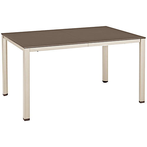 Buy Kettler Basic Plus Rectangular 6-8 Seater Extending Outdoor Dining Table Online at johnlewis.com
