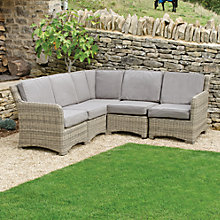 Buy Neptune Murano Modular Outdoor Corner Group, Warm Slate Online at johnlewis.com