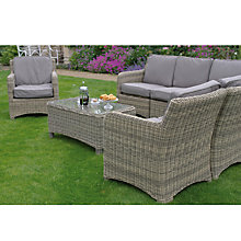 Buy Neptune Murano Modular Outdoor Corner Group with Coffee Table and Chair, Warm Slate Online at johnlewis.com