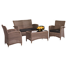 Buy KETTLER Lakena Outdoor Lounge Set, Rattan Online at johnlewis.com